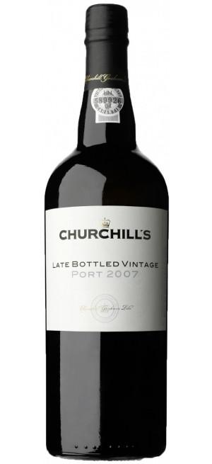 """Портвейн """"Churchill's"""" Late Bottled Vintage Port, 2015, 0.75 л"""