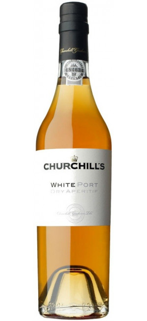 Портвейн Churchill's, White Port Dry Aperitif, 0.5 л