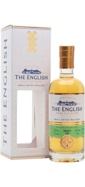 "Виски English Whisky, ""Small Batch Release"" Smokey Oak Bourbon Cask Matured, gift box, 0.7 л"
