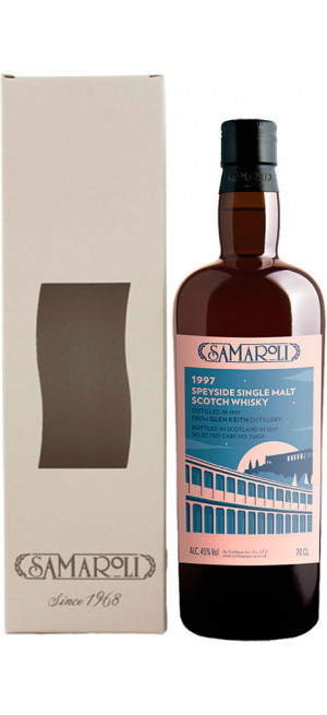 Виски Samaroli, Glen Keith, 1997, gift box, 0.7 л