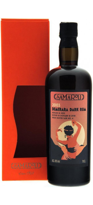 Ром Samaroli, Demerara Dark, gift box, 0.7 л