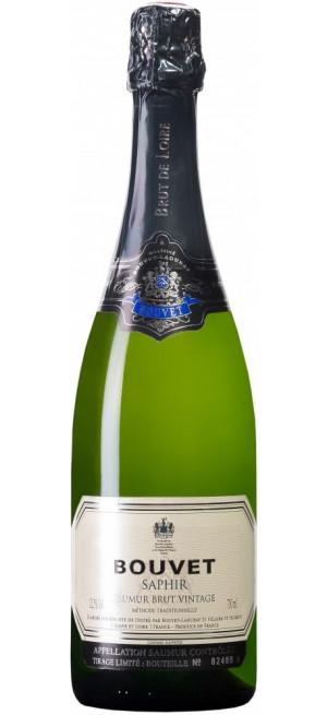 """Игристое вино Bouvet Ladubay, """"Saphir"""" Brut Vintage, Saumur AOC, 2017, 0.75 л"""
