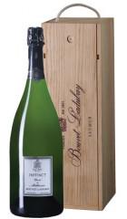 """Игристое вино Bouvet Ladubay, """"Instinct"""" Cuvee de Millenaire Brut, Saumur AOC, 2012, wooden box, 1.5 л"""
