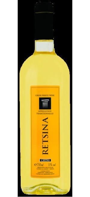 Вино Cavino, Retsina, 0.75 л
