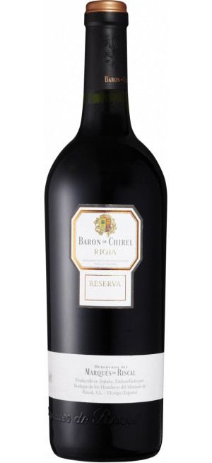 "Вино ""Baron de Chirel"" Reserva, Rioja DOC, 2014, 0.75 л"