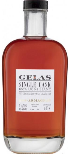 """Арманьяк Gelas, """"Single Cask"""" 5 Ans, 0.7 л"""