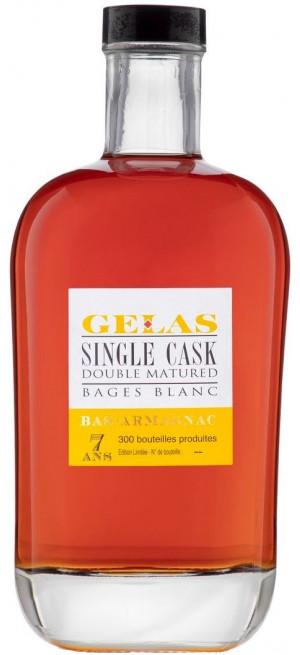 """Арманьяк Gelas, """"Single Cask"""" 7 ans, 0.7 л"""