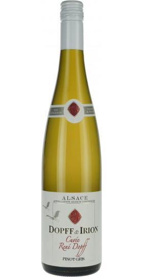 "Вино ""Cuvee Rene Dopff"" Pinot Gris, Alsace AOC, 2018, 0.75 л"