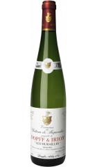 """Вино Dopff & Irion, Domaines du Chateu de Riquewihr, """"Les Murailles"""" Riesling, Alsace AOC, 2016, 0.75 л"""
