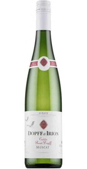 """Вино """"Cuvee Rene Dopff"""" Muscat Sec, Alsace AOC, 2019, 0.75 л"""