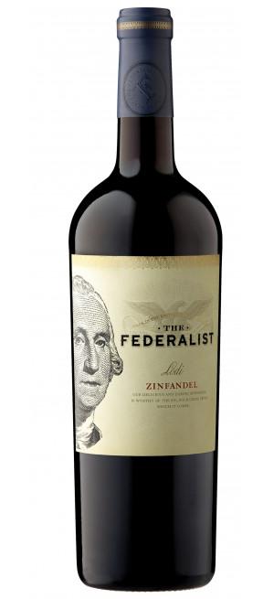 """Вино """"The Federalist"""" Zinfandel, 2018, 0.75 л"""