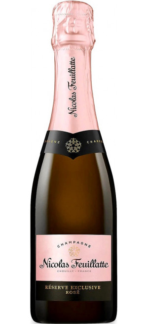 Шампанское Nicolas Feuillatte, Reserve Exclusive Rose Brut, 375 мл