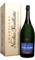 "Шампанское Nicolas Feuillatte, ""Reserve Exclusive"" Brut, wooden box, 6 л"