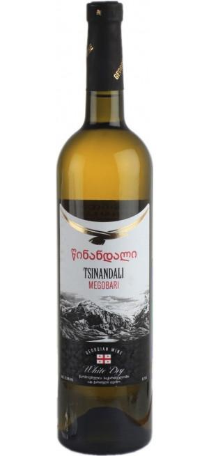 "Вино ""Мегобари"" Цинандали, 0.75 л"