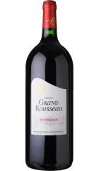 Вино Chateau Grand Rousseau, Bordeaux AOC, 2018, 1,5 л