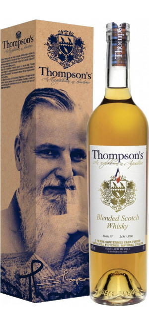 "Виски ""Thompson's"" Blended Scotch Whisky, gift box, 0.7 л"