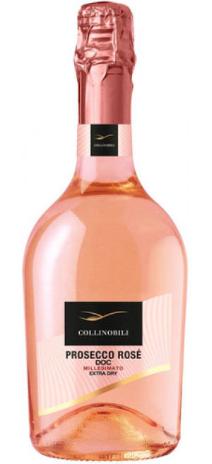 """Игристое вино Contarini, """"Collinobili"""" Prosecco Rose DOC Extra Dry, 750 мл"""